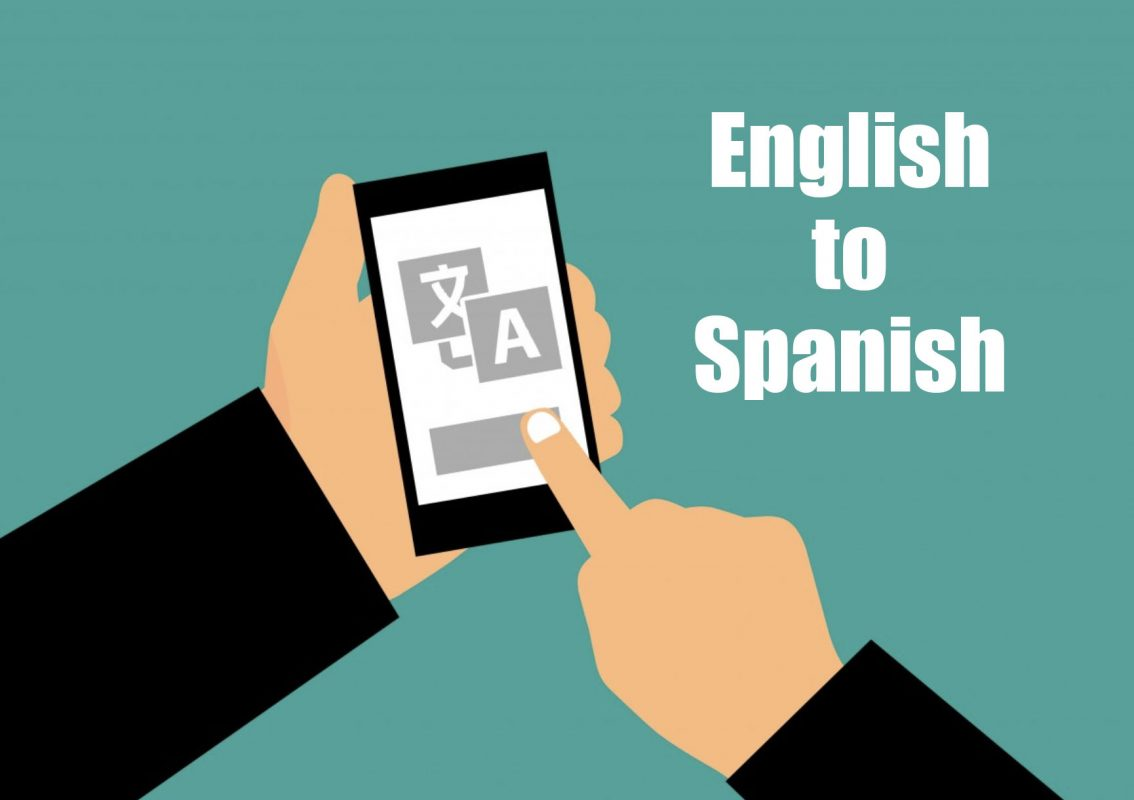 Translate English web page to Spanish